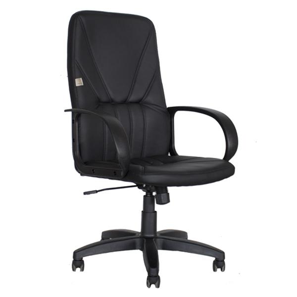 Кресло КР37 экокожа черная купить в интернет магазине Меб-фф, с доставкой по Москве и московской области и всей России.