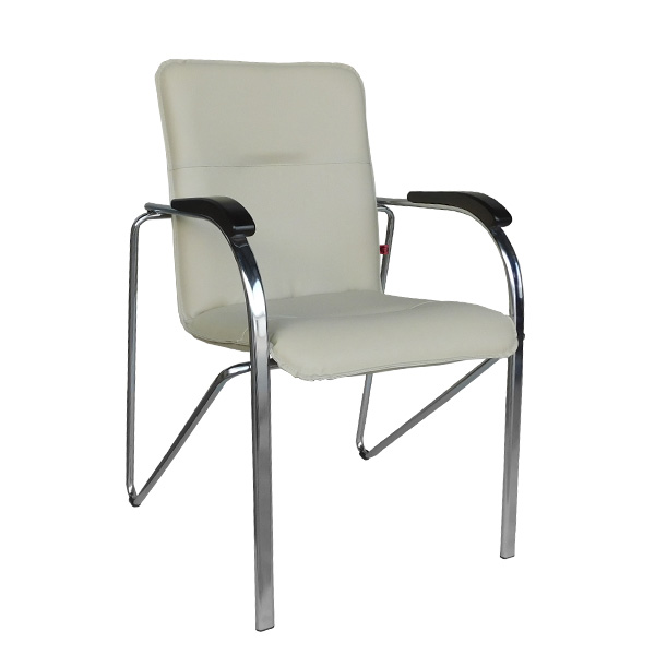 Офисный стул Самба цвет кремовый - купить 24 часа, доставка в день заказа, интернет магазин товаров для офиса, гарантии.